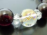 チャクラ7 観月環オリジナル「第1チャクラパワーストーンブレスレット」