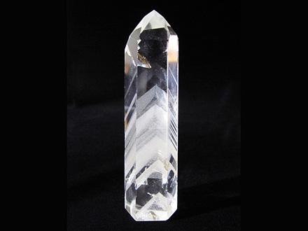 六角柱水晶ファントムレインボー財脈招来