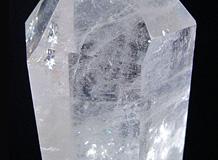 六角柱天然水晶 一点品 慶雲昌光