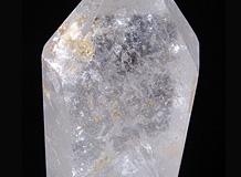 六角柱天然水晶 一点品 レインボー入り 銀河