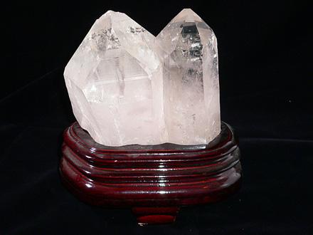 天然水晶クラスター