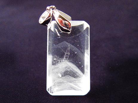 天然水晶ペンダントトップ