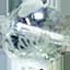 ガーデンルチルクォーツ五爪龍素彫り
