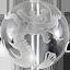 水晶 素彫り龍と鳳凰