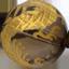 スモーキークォーツ 金彫り五爪龍珠持ち