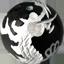 ブラックオニキス 銀彫り五爪龍珠持ち