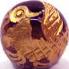 アメジスト 金彫り