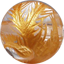 水晶金彫り鳳凰