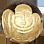 パワーストーン/天然水晶金彫り七福神/布袋和尚