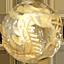 パワーストーン/ゴルードルチル金彫り五爪龍珠持ち