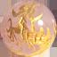 ローズクオーツ五爪龍金彫り